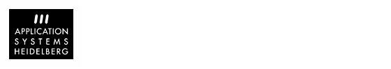 Application Systems Heidelberg
